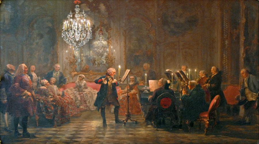 Quadri del Settecento musicale italiano